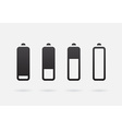 Battery Accumulator Charge Icon or Symbol Set vector image