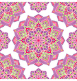 Bright pink pattern vector image