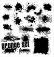Grunge splashes set vector | Price: 1 Credit (USD $1)