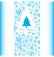merry christmas card eps10 vector image vector image