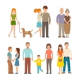People happy couple cartoon and relationship vector image vector image