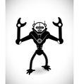 Robot design vector image vector image