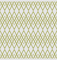 tile pattern with green plaid on grey background vector image vector image