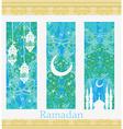 Islamic Banners set - Ramadan vector image