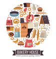 bakery house shop selling baked pastry and goods