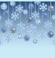 christmas and new year seamless border vector image vector image