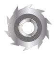 Disk for saw vector image