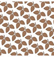 Cocoa Pattern vector image vector image