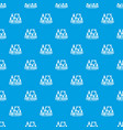 find friends pattern seamless blue vector image vector image