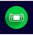 game controls Video games vector image