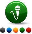 Mic icons vector image vector image