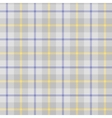 Seamless background of plaid pattern vector image vector image