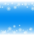 Simple but cute winter background vector image vector image