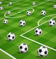 World soccer championship vector image