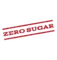 Zero Sugar Watermark Stamp vector image vector image