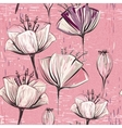 colorful tulips pattern Seamless can be vector image