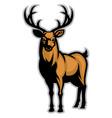 buck mascot vector image vector image