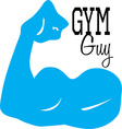Gym Guy vector image vector image