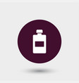 lotion icon simple barbershop vector image