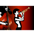 musicians black and white vector image vector image