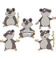 Panda clip art cartoon vector image vector image