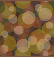 transparent seamless pattern pastel spots autumn vector image