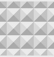 3d geometric pattern abstract gray seamless vector image vector image