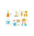allergy symptoms and treatment icons set allergic