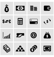black money icon set vector image vector image