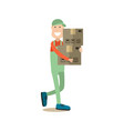 delivery people concept vector image