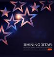 elegant stars background with gold glitter effect