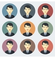 Emotions of Businessman vector image