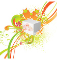 Fresh Summer on Box vector image