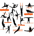 gymnastics silhouettes collection