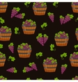 harvest seamless pattern vector image vector image