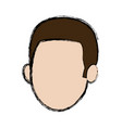 man character head default male image vector image vector image