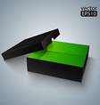 Opened Black box vector image vector image