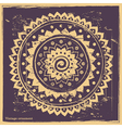 purple indian ornament vector image vector image