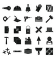 tiler icons set simple style