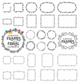 Vintage Frame and Label Collection vector image