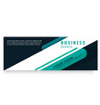 abstract green design business banner image vector image vector image