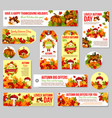 autumn sale tag and fall discount offer label set vector image vector image