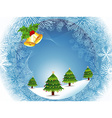 Beautiful Christmas Abstract design vector image vector image