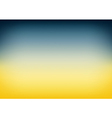 Blue Teal Yellow Gradient Background vector image vector image