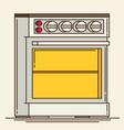 Gas stove plates flat