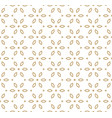 geometric gold pattern in japanese style vector image