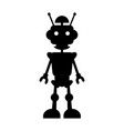 robot icon concept for design vector image