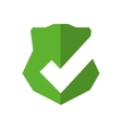 shield badge protection label security icon vector image