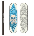 Skateboard Design One vector image