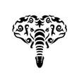 tribal elephant vector image